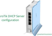 MikroTik DHCP Server configuration
