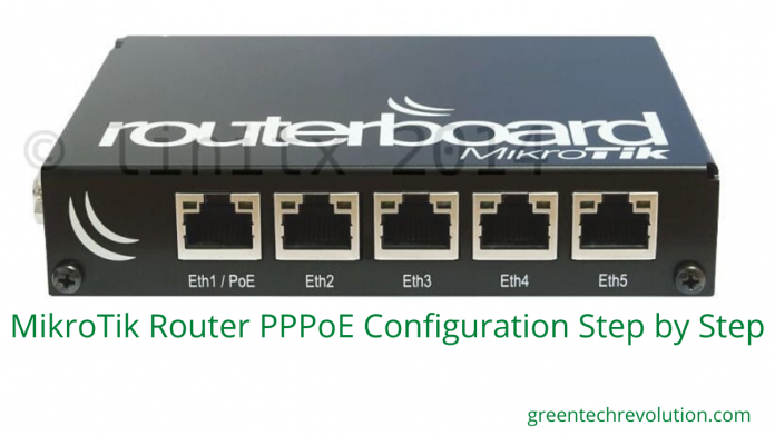 MikroTik Router PPPoE Configuration step by step