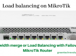Load balancing on MikroTik