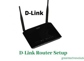 D-link router configuration