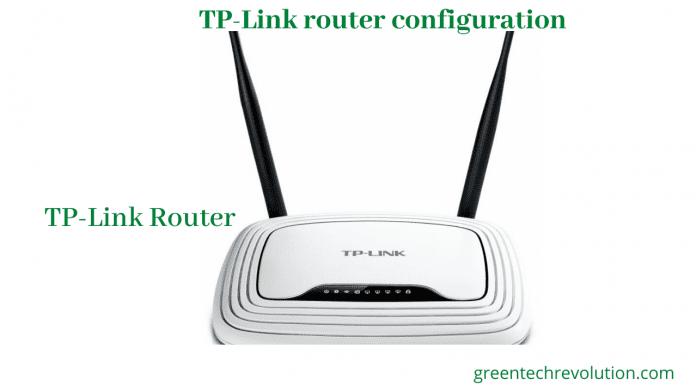 TP Link router configuration